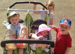 samen wandelen kinderdagverblijf wijk en aalburg
